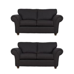 Hampshire charcoal 2 x 2 sofa
