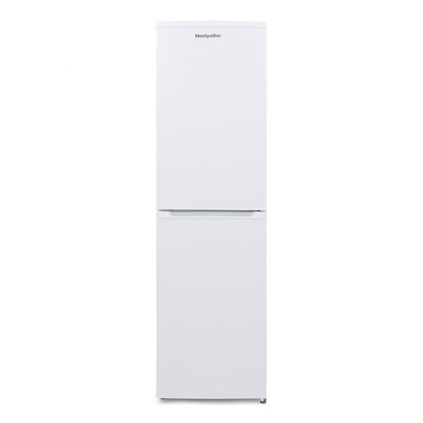 Montpellier MFF196W White No Frost Fridge Freezer