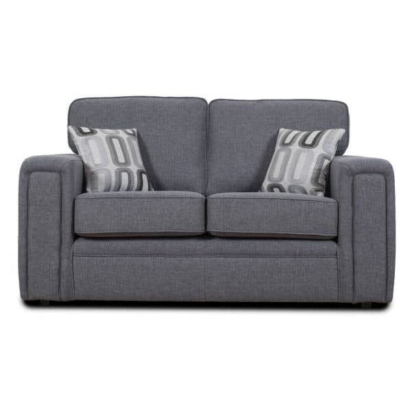 Milano 2 Seater Grey Sofa