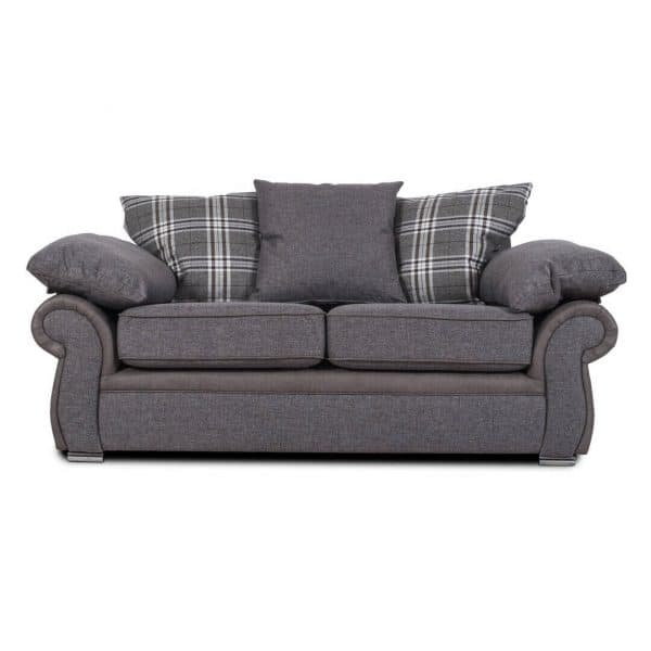 Sorrento 2 Seater Grey Sofa