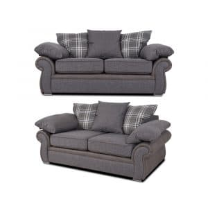sorrento 2 x 2 seater sofa set