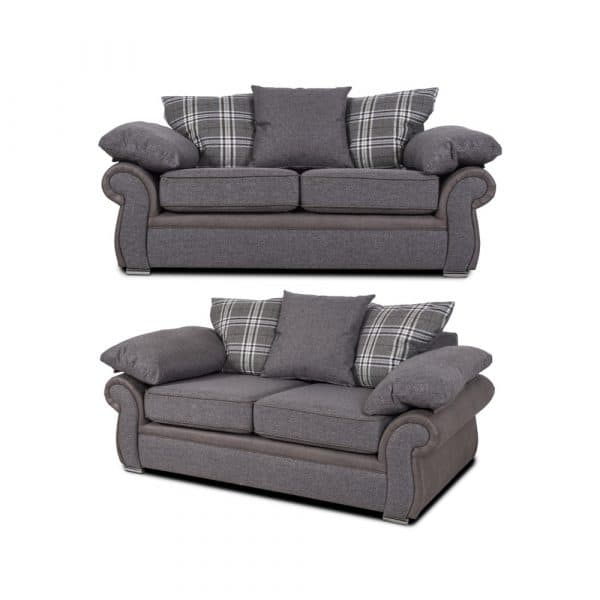 sorrento 2 x 2 seater sofa set